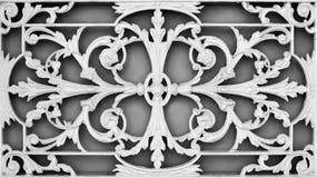 Thai Window Pattern Royalty Free Stock Image
