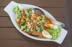 Thai Wing Bean Salad delicious thai food. Thai Wing Bean Salad thai food Stock Images
