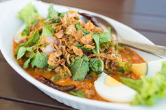 Thai Wing Bean Salad. Thai food Stock Photography