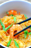 Thai wok sea food Royalty Free Stock Image