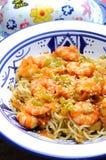 Thai wok sea food Royalty Free Stock Photography
