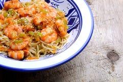 Thai wok sea food Stock Photography