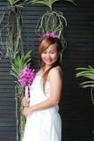 Thai woman stock photo