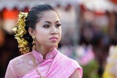 Thai woman dancer Stock Image