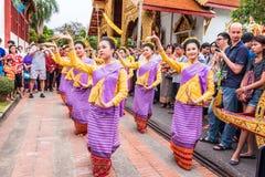 Thai woman dancer Royalty Free Stock Photo