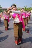 Thai woman dancer Stock Photos