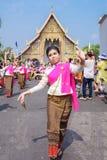 Thai woman dancer Royalty Free Stock Image