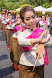 Thai woman dancer Royalty Free Stock Photography