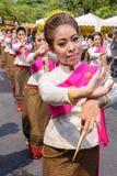 Thai woman dancer Royalty Free Stock Photography