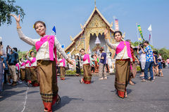 Thai woman dancer Stock Photography