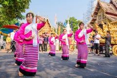 Thai woman dancer Stock Images