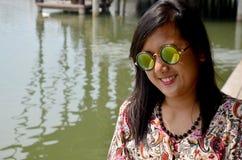 Thai woman portrait Stock Photography