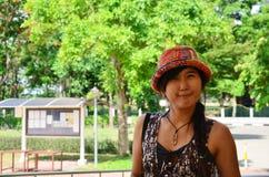 Thai woman portrait Royalty Free Stock Photo