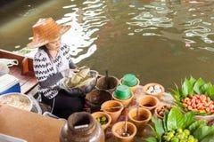 Thai woman preparing food Stock Photos
