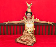 Thai lady Royalty Free Stock Images