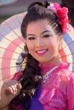 Thai women in costume Stock Images