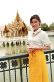 Thai women dressing with traditional style Royalty Free Stock Images