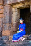 Thai women wearing traditional dress Royalty Free Stock Photo