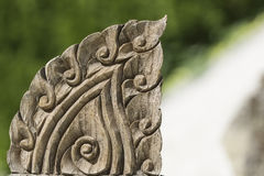 Thai wood carving Stock Photos