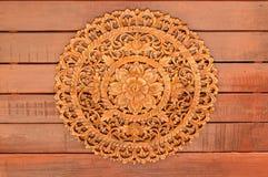 Thai  wood craft Royalty Free Stock Image