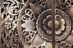 Thai wood craving Royalty Free Stock Photography
