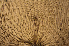 Thai wooden curve wicker pattern Stock Photography