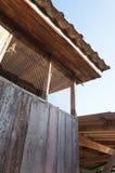 Thai wooden house in Chiangmai Stock Photos