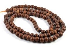 Thai wooden rosary Stock Photo
