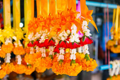 Thai worship garland Royalty Free Stock Photography