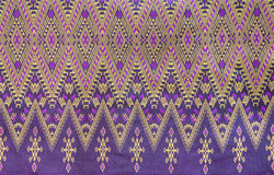 Thai woven fabric Royalty Free Stock Image