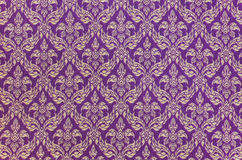 Thai woven fabric pattern Stock Image