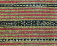 Thai woven fabric Stock Photo