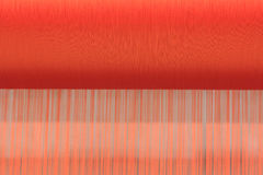 Thai woven silk machine Royalty Free Stock Photos