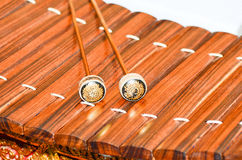 Thai xylophone instrument Royalty Free Stock Images