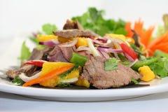 Thai Yum Meur. Beef entree Stock Photos