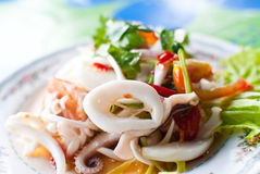 Thai Yum seafood. Stock Image