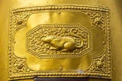 The 12 Thai zodiac at Bell (rat). The 12 Thai zodiac at Bell , (rat royalty free illustration
