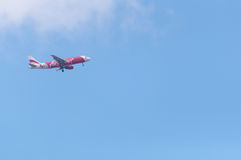 Thaiairasia-Landung stockbild