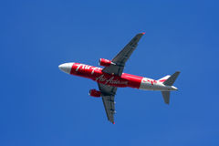 Thaiairasia take off Royalty Free Stock Images