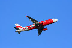 Thaiairasia take off Stock Photos