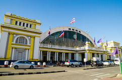 Thaiand train station Royalty Free Stock Photo