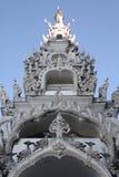 Thaiart,寺庙, wat,天空 免版税库存图片