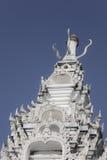 Thaiart, tempel, wat, hemel Stock Afbeelding