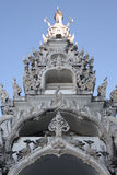 Thaiart, tempel, wat, hemel Royalty-vrije Stock Afbeeldingen