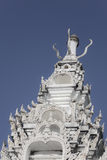 Thaiart, temple, wat, ciel Image stock