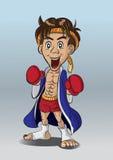 Thaiboxing. Fotografering för Bildbyråer