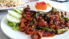 Thaifood Royaltyfria Bilder