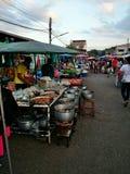 Thaifood, alimento tailandês da rua Fotografia de Stock