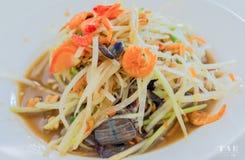 Thaifood de la comida Imagen de archivo libre de regalías