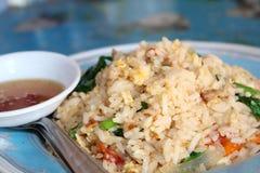 Thaifood del arroz frito de la pista de Koow Fotos de archivo libres de regalías